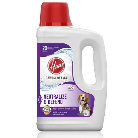 Paws & Claws Carpet Cleaning Formula with Stainguard 64oz, , medium