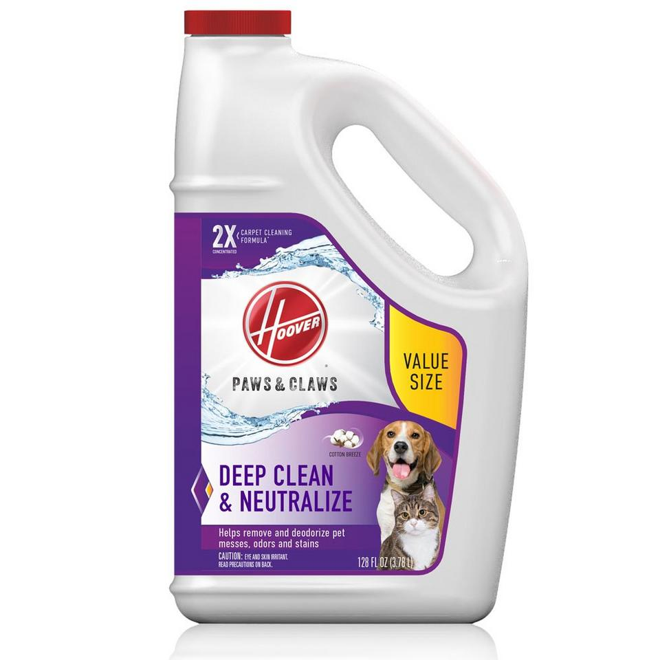 Hoover Paws & Claws Carpet Cleaning Formula 128 oz. - AH30933CA