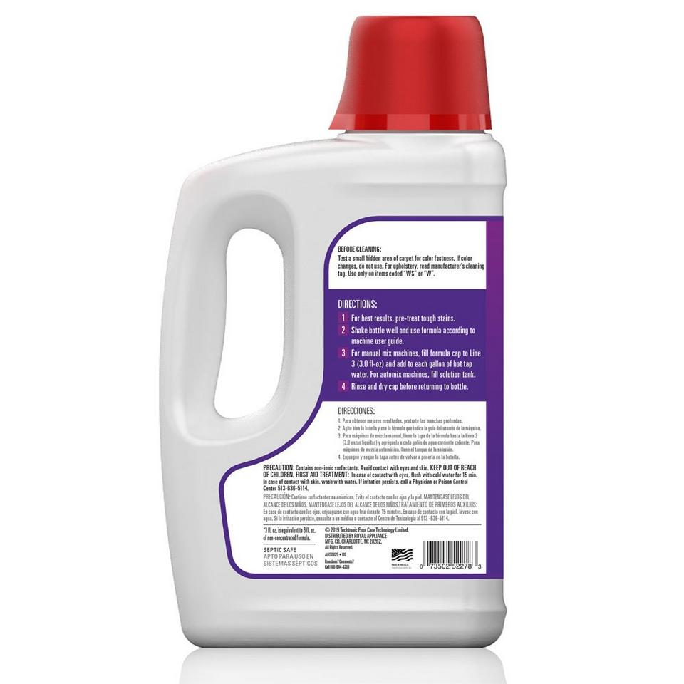 Paws & Claws Carpet Cleaning Formula with Stainguard 64oz - AH30925