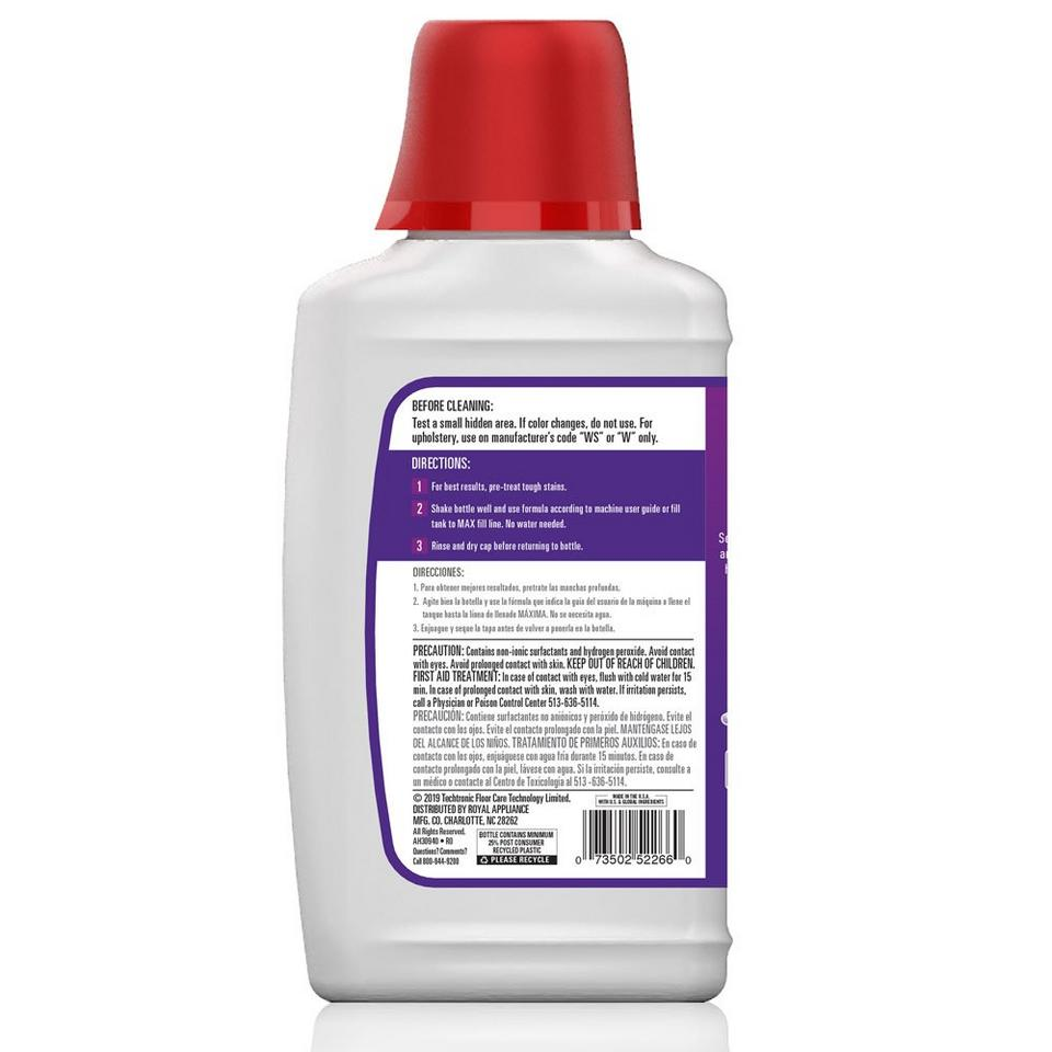 Hoover Paws & Claws Pre-Mixed Carpet Cleaning Formula 32oz - AH30940
