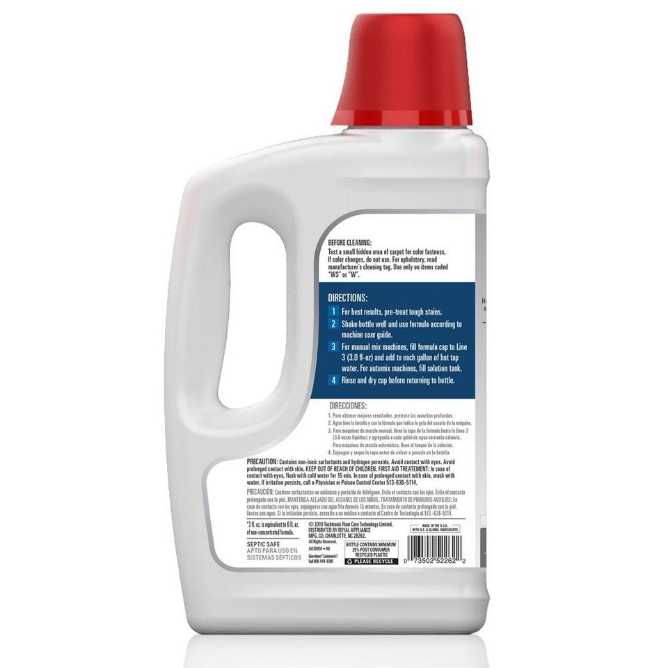 Oxy Carpet Cleaning Formula 50oz - AH30950