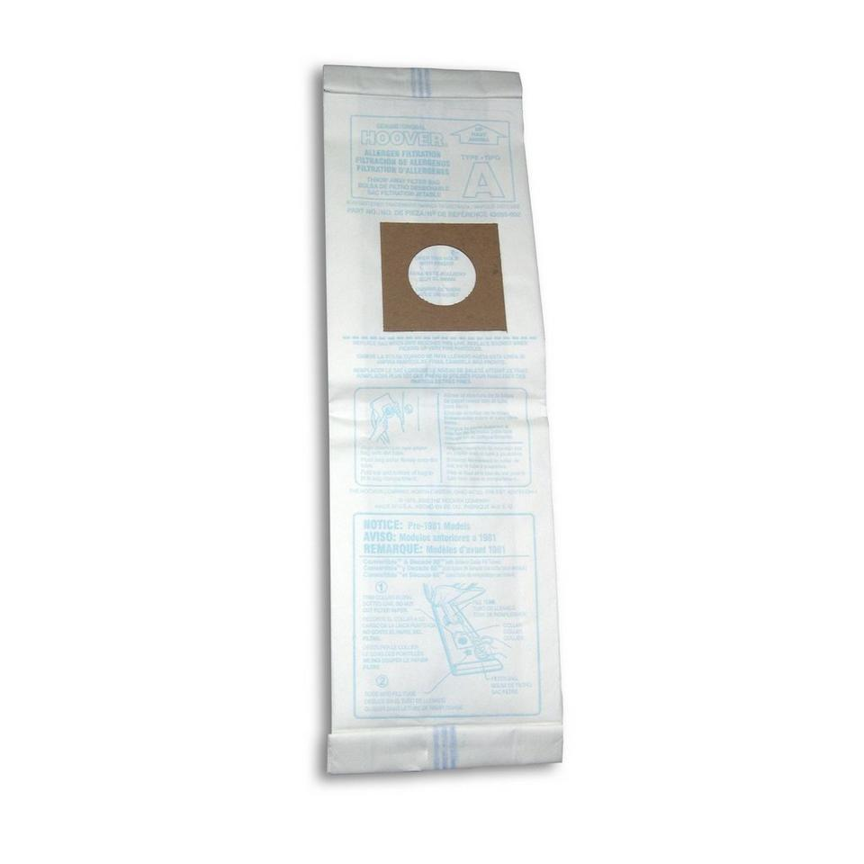 Type A Allergen Bag - 3 Pack - 4010100A