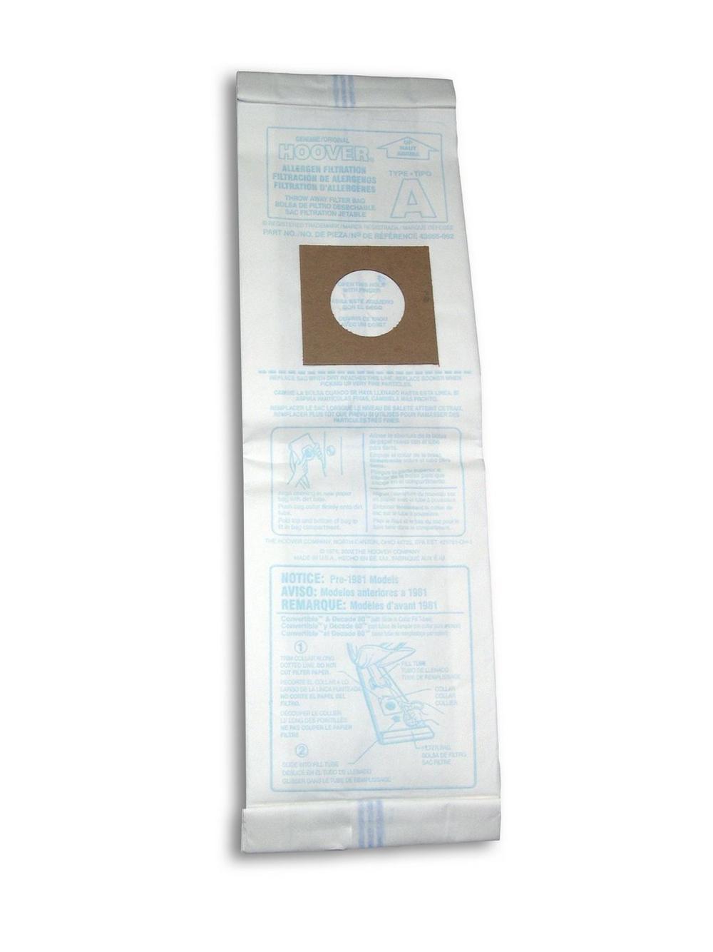 Type A Allergen Bag - 3 Pack6