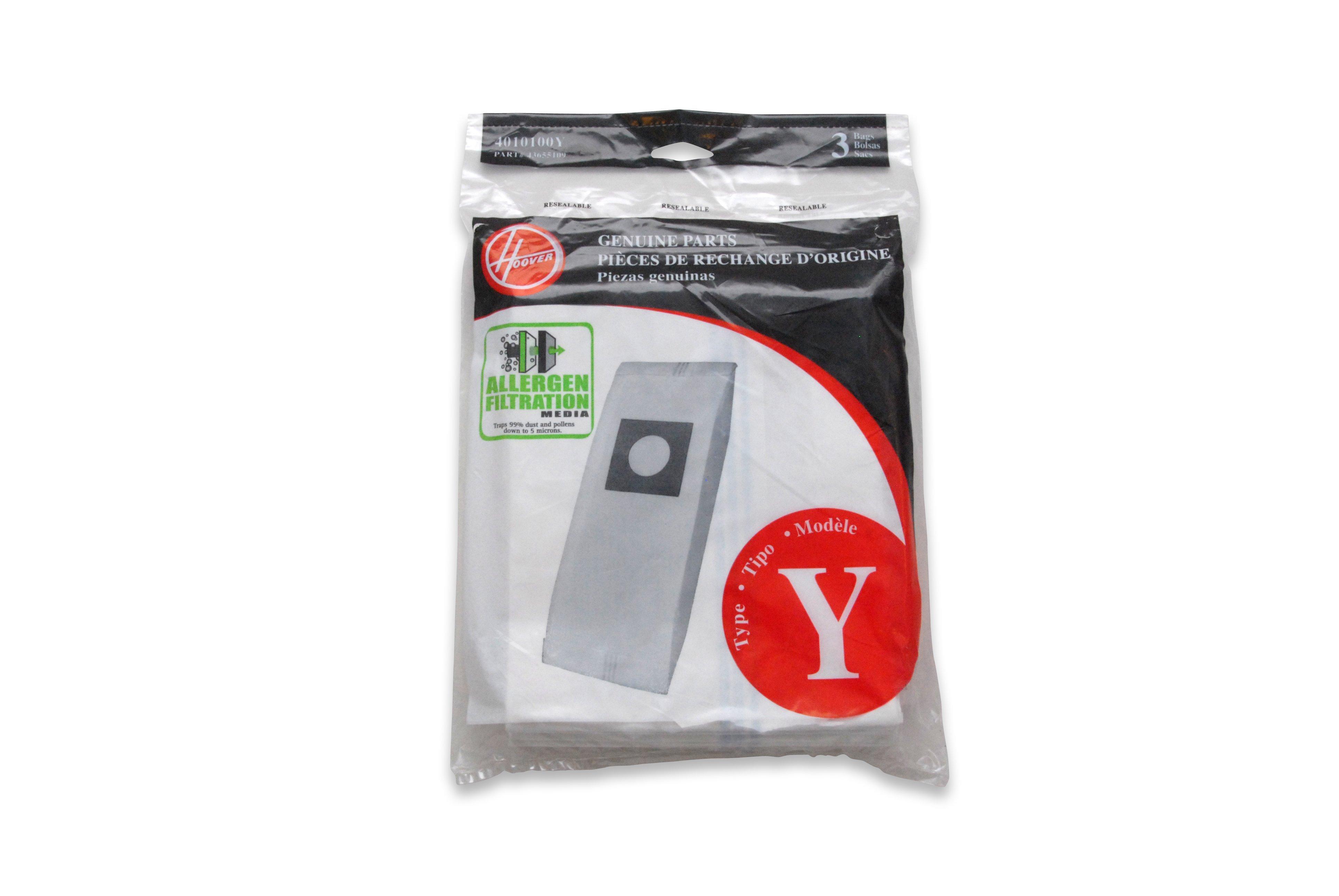 Type Y Allergen Bag - 3 Pack
