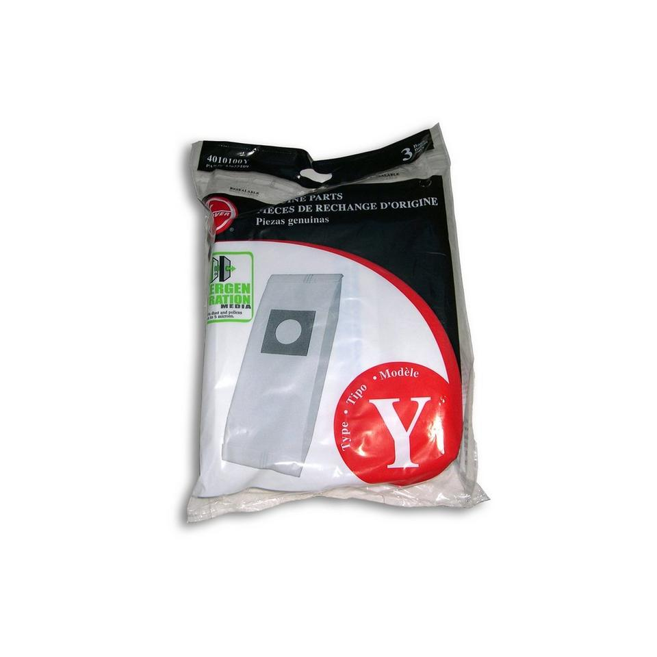 Type Y Allergen Bag 3 Pack 4010100y Hoover