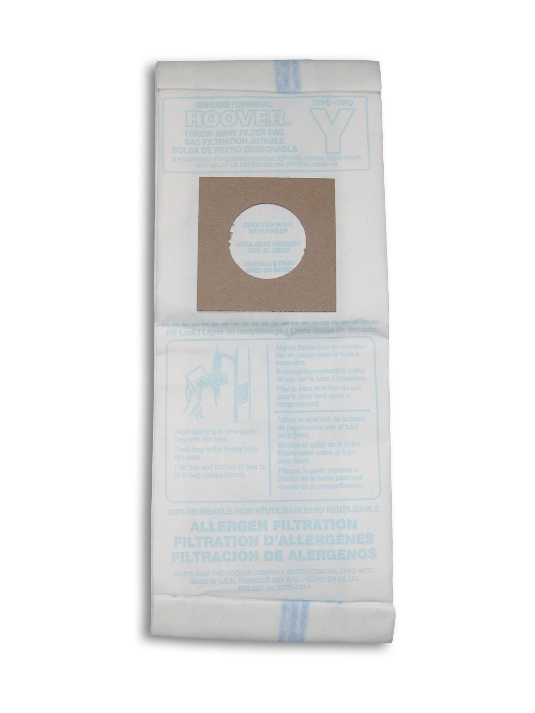 Type Y Allergen Bag - 3 Pack4