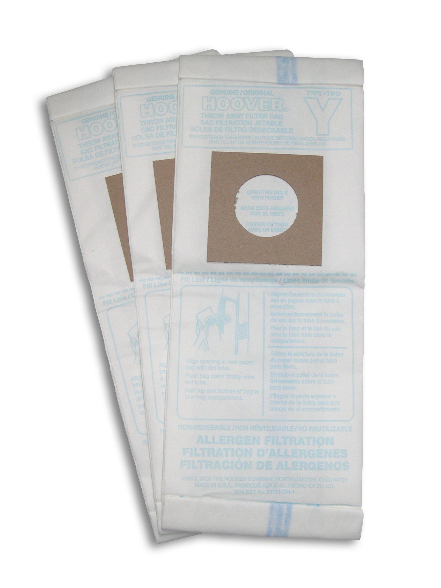 Type Y Allergen Bag - 3 Pack5