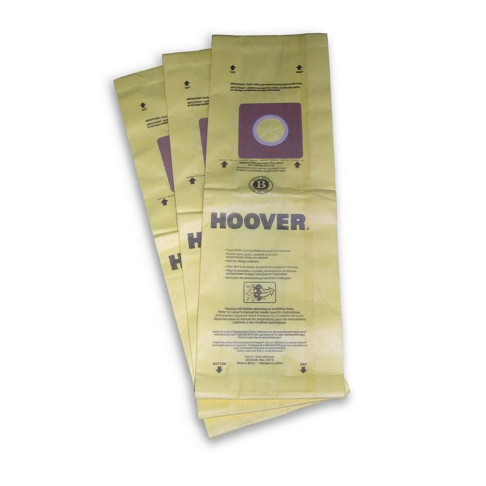 Type B Allergen Bag - 3 Pack - 4010103B