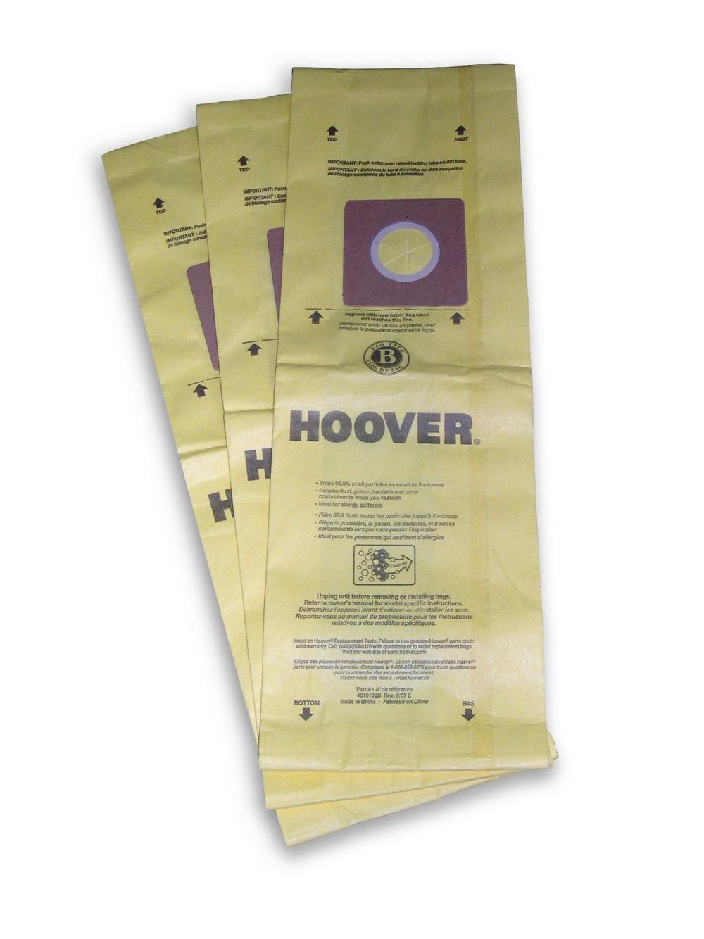 Type B Allergen Bag - 3 Pack2