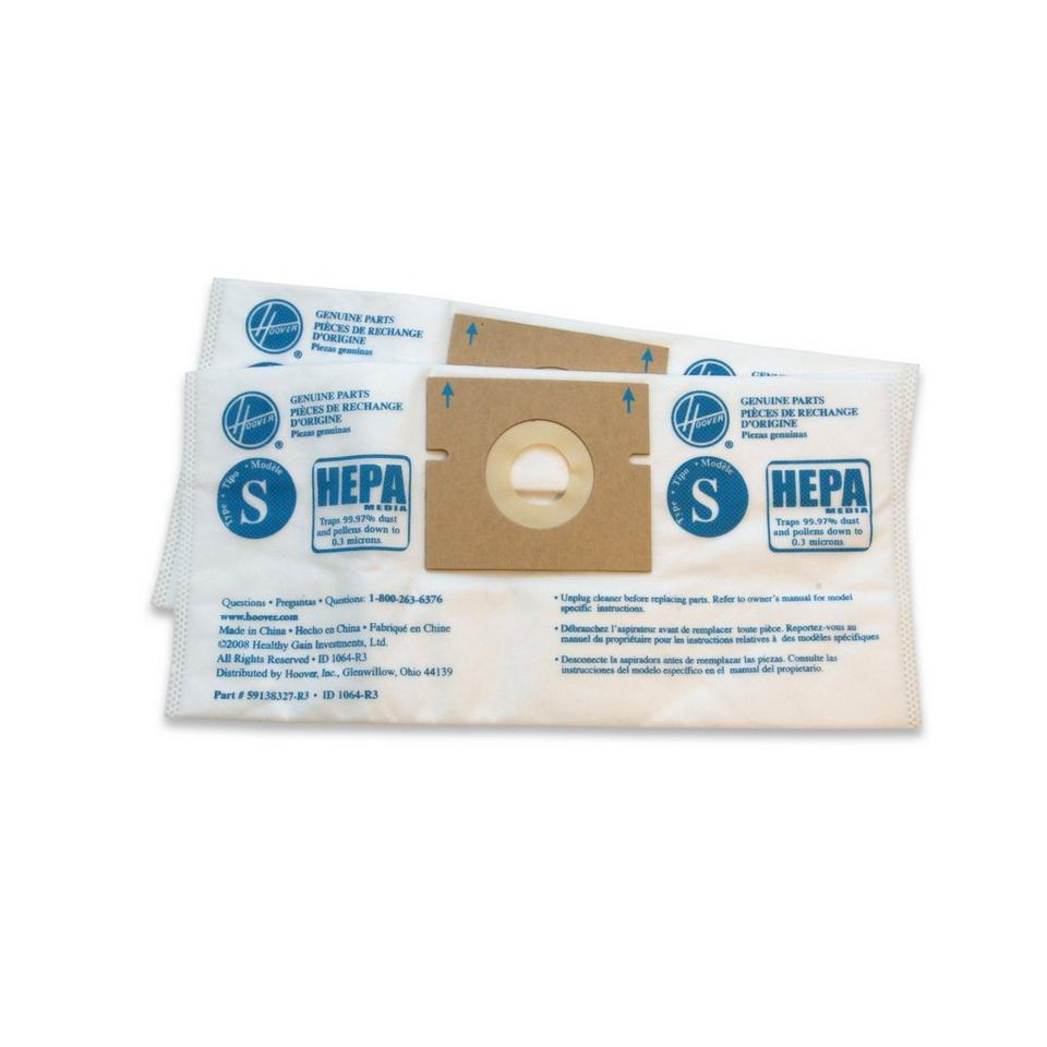 Type S HEPA Bag - 2 Pack - 4010808S