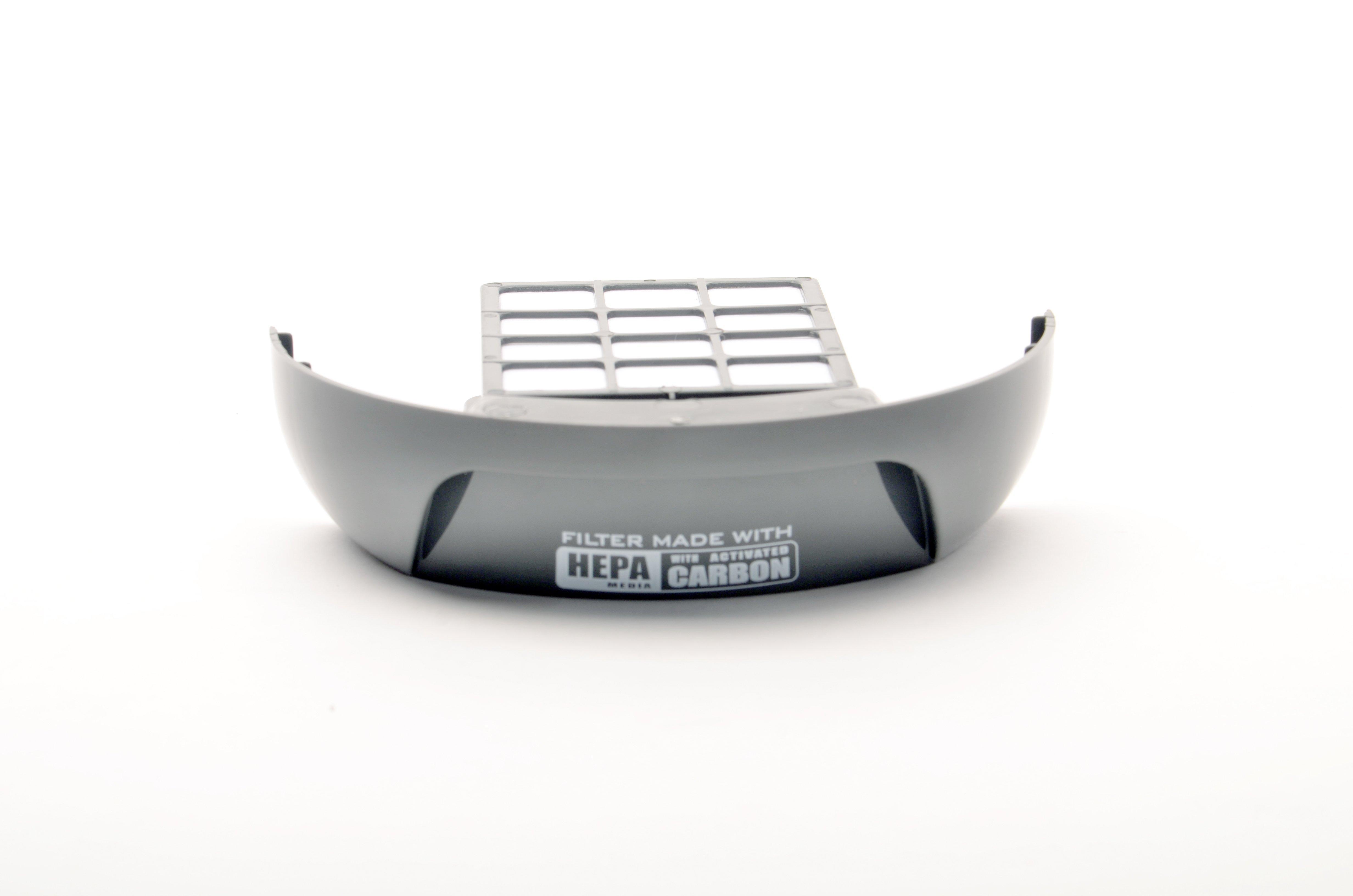 Rewind Bagless Filter Assembly, Exhaust HEPA