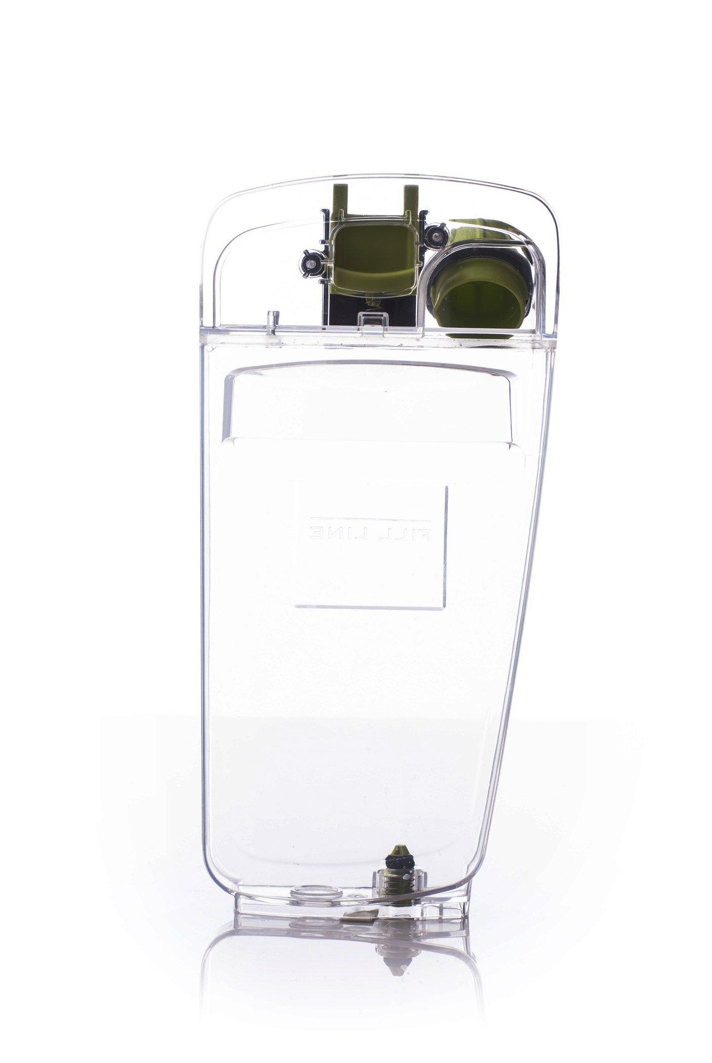 Solution Tank With Lid & Cap for FloorMate Deluxe