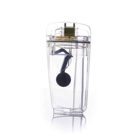 Dirty Water Tank With Lid & Float , , medium
