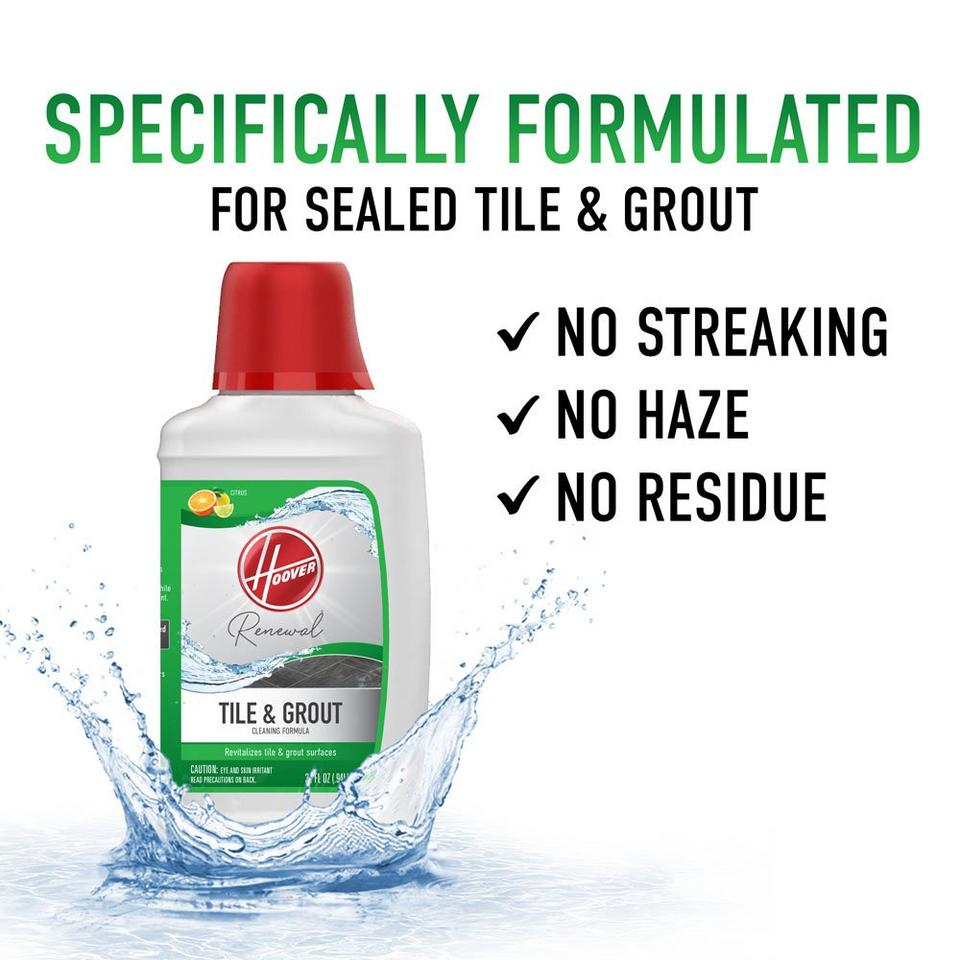 Hoover Renewal Tile & Grout Cleaning Formula  - AH30433