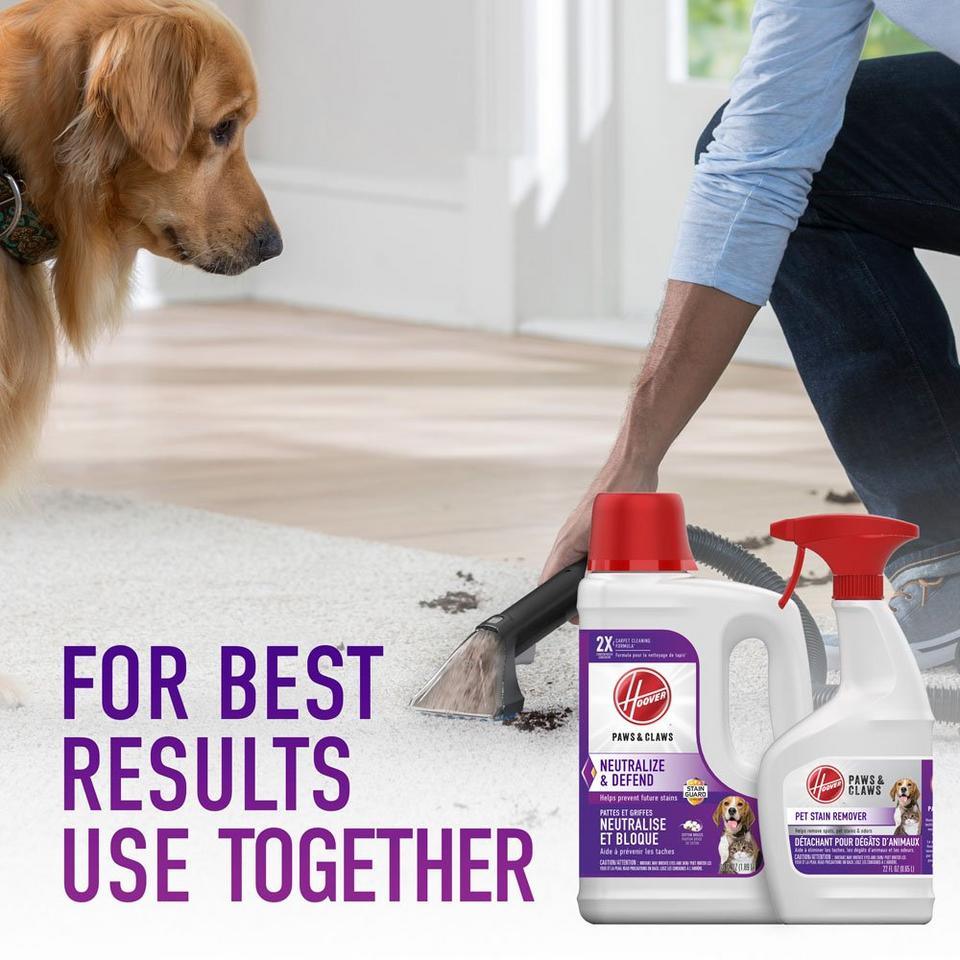 Paws & Claws Carpet Cleaning Formula with Stainguard 64oz - AH30925CA