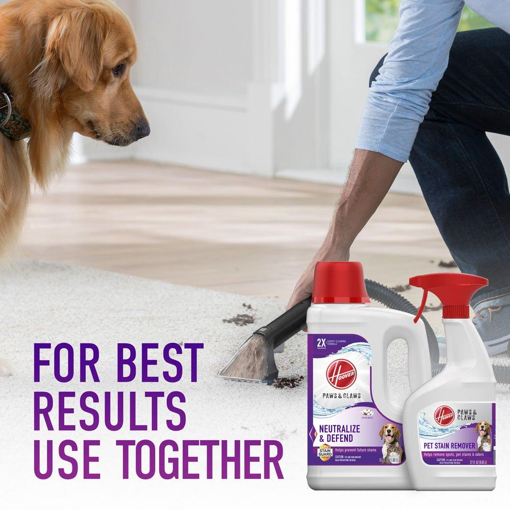 Paws & Claws Carpet Cleaning Formula with Stainguard 64oz6