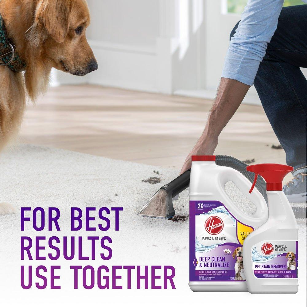 Paws & Claws Carpet Cleaning Formula 128oz6