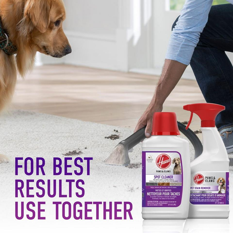 Hoover Paws & Claws Pre-Mixed Carpet Cleaning Formula 32oz - AH30940CA