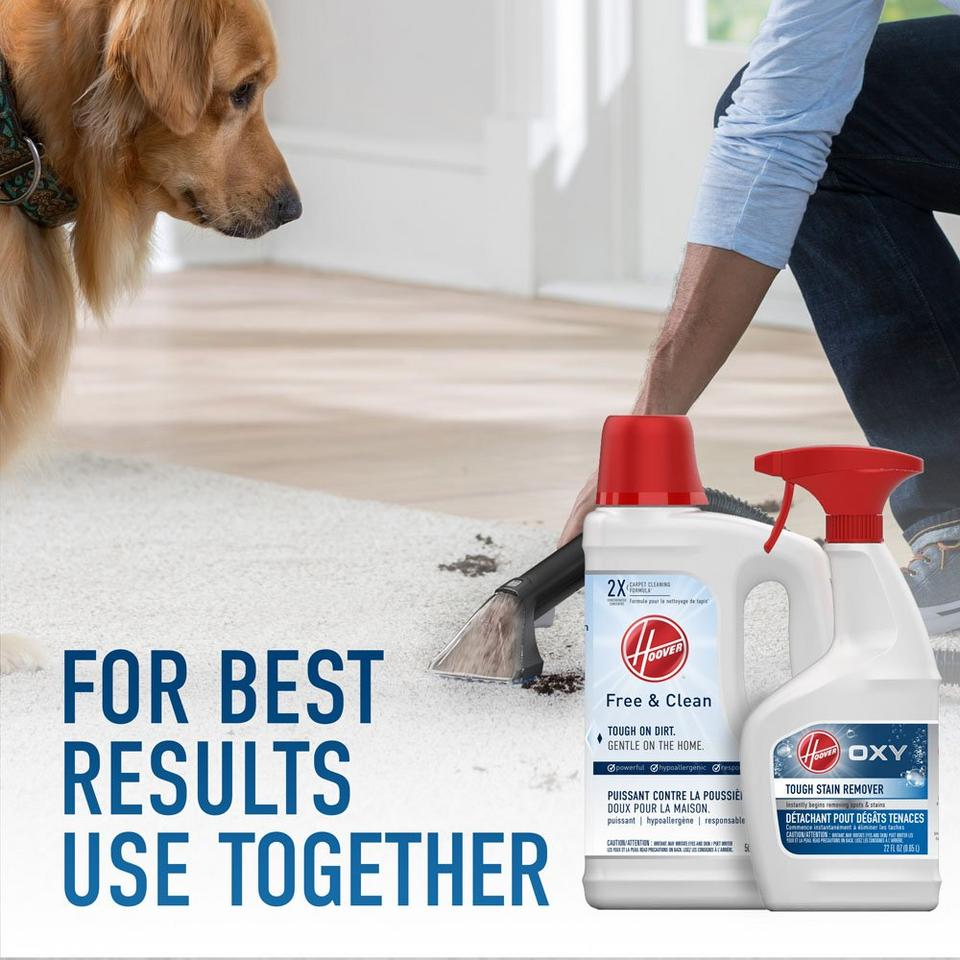 Hoover Free & Clean Carpet Cleaning Formula 50 oz.  - AH30952CA