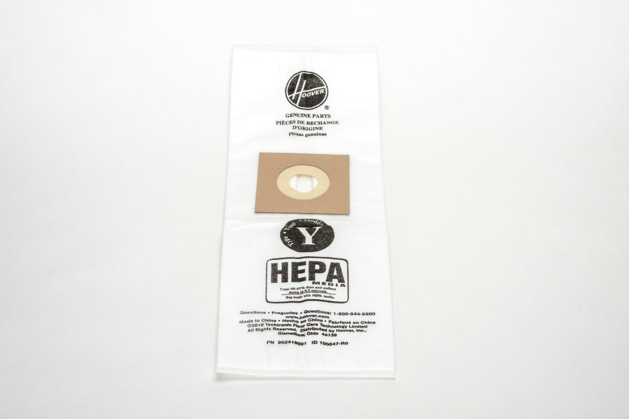 Type Y HEPA Bag