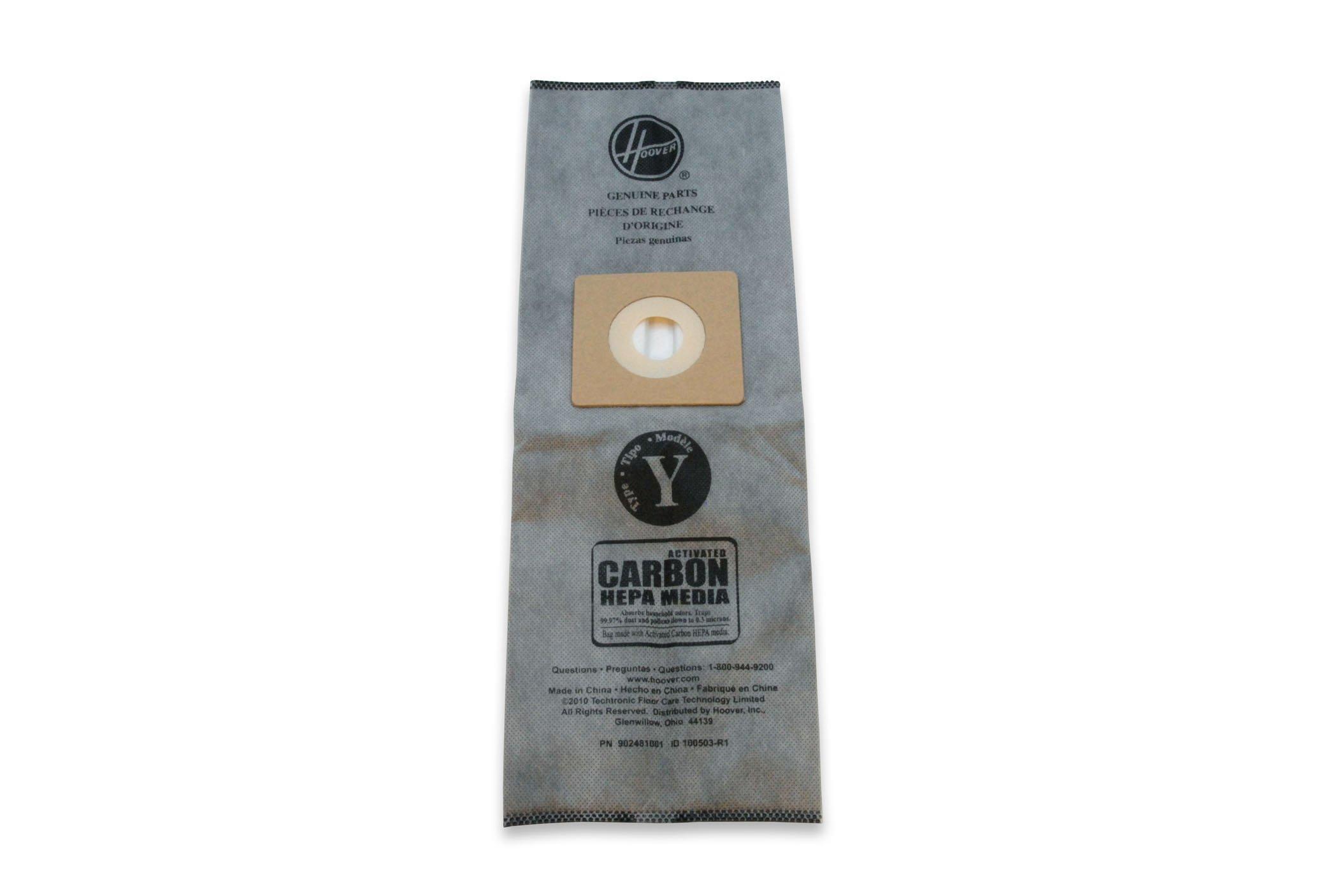 Type Y Carbon HEPA Bag