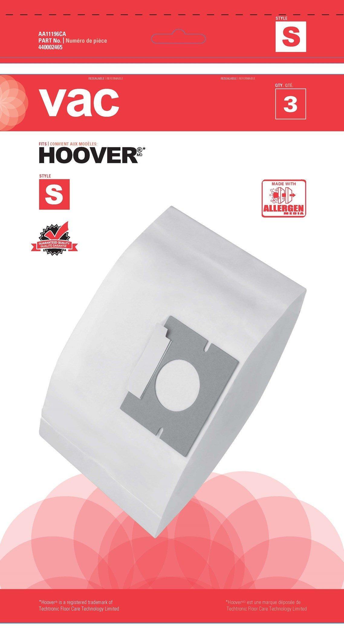 Vac Hoover Bag-Y - 3 Pack
