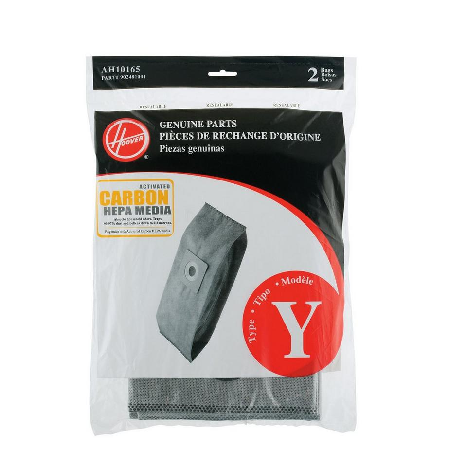 Type Y Carbon HEPA Bag - 2 Pack - AH10165