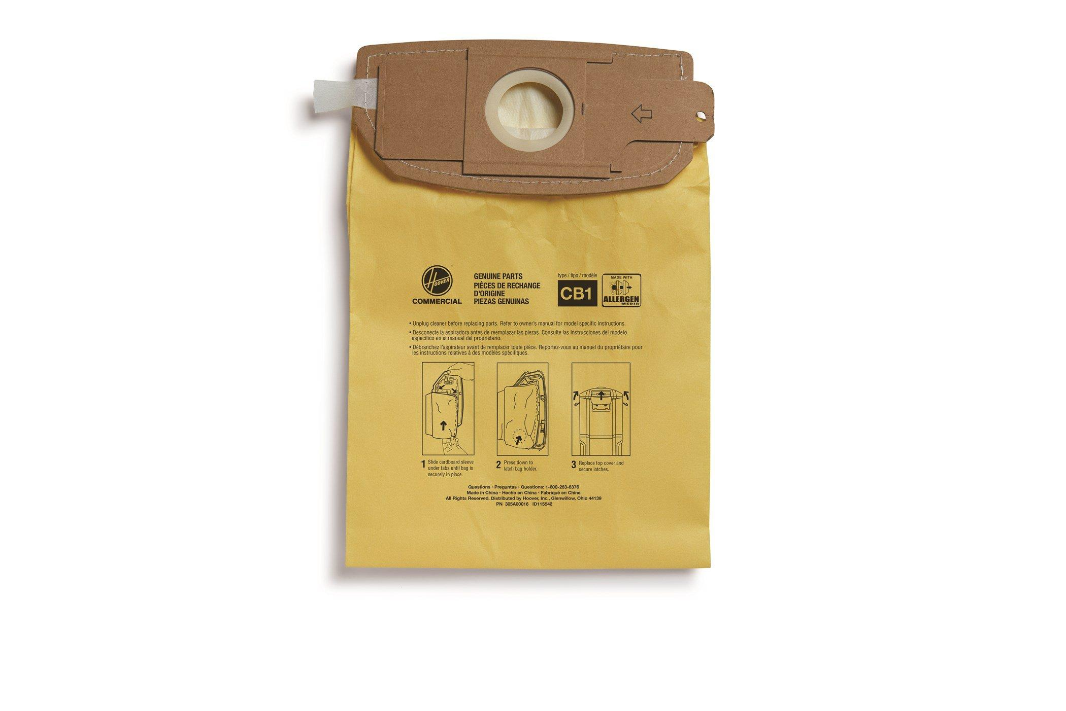 TYPE CB1 ALLERGEN BAGS, CH34006 AND CH93406