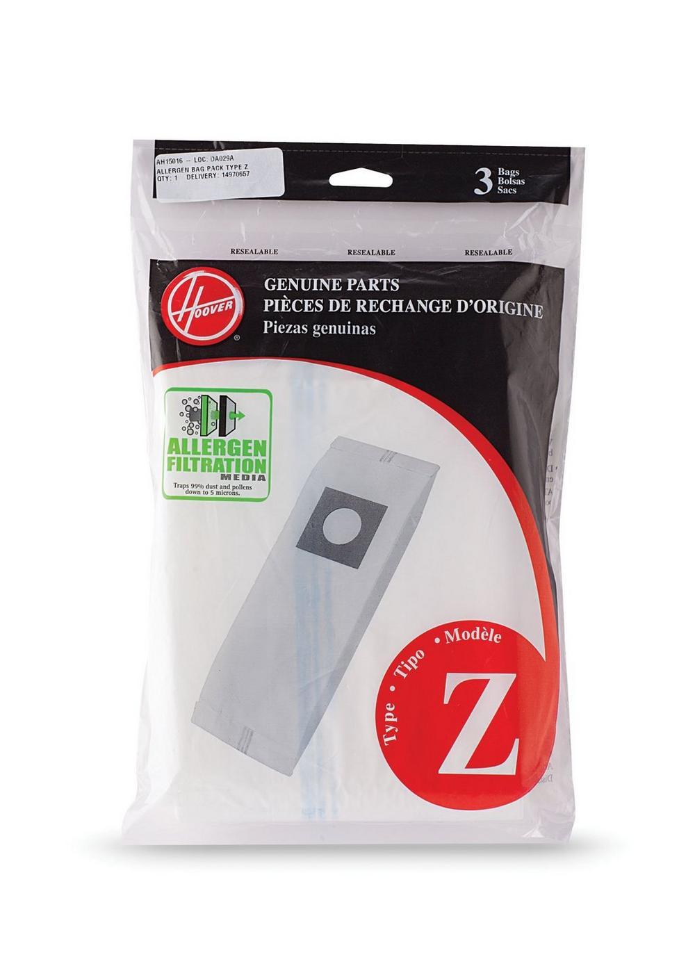 Type Z Allergen Bag - 3 Pack2