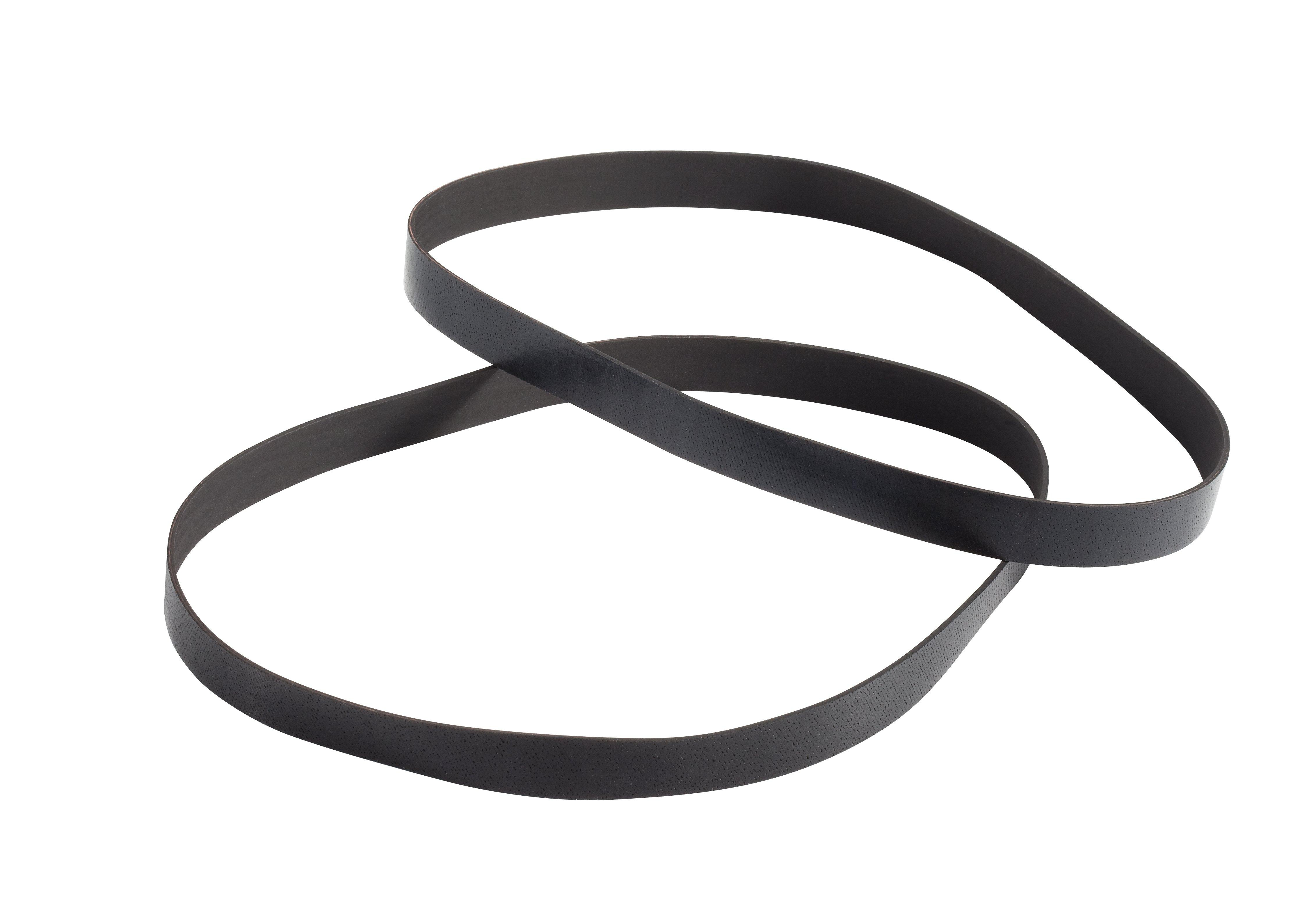 Flat Non-Stretch Belt - 2 Pack for Select Hoover Bagless Uprights with On/Off Brushroll Pedal