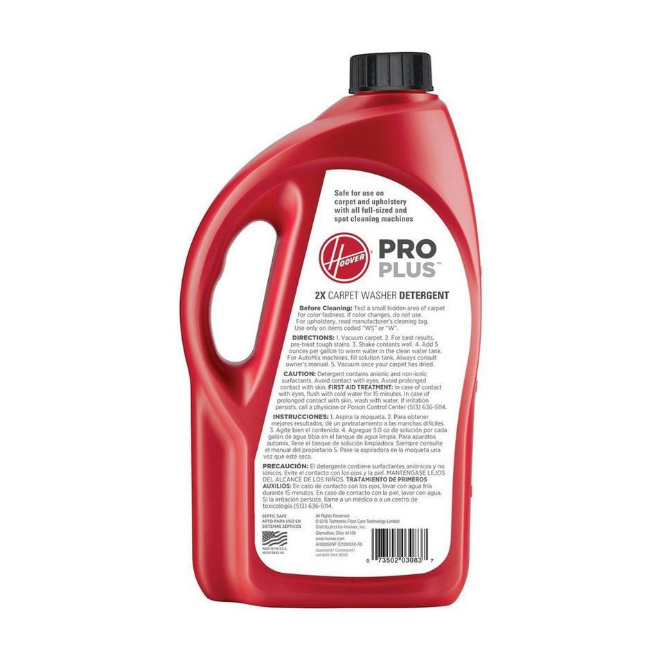 64 oz. Pro Plus 2X Carpet Washer Solution - AH30050NF