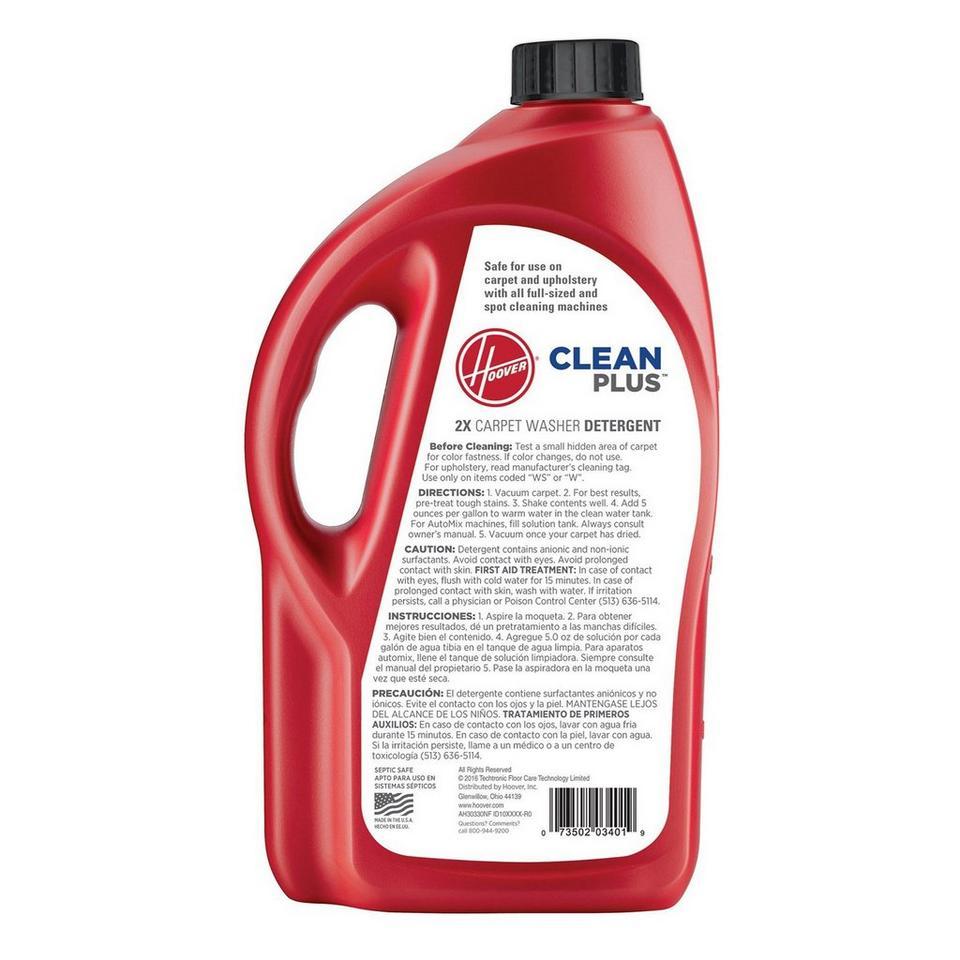 64 oz. Clean Plus 2X Carpet Washer Solution - AH30330NF