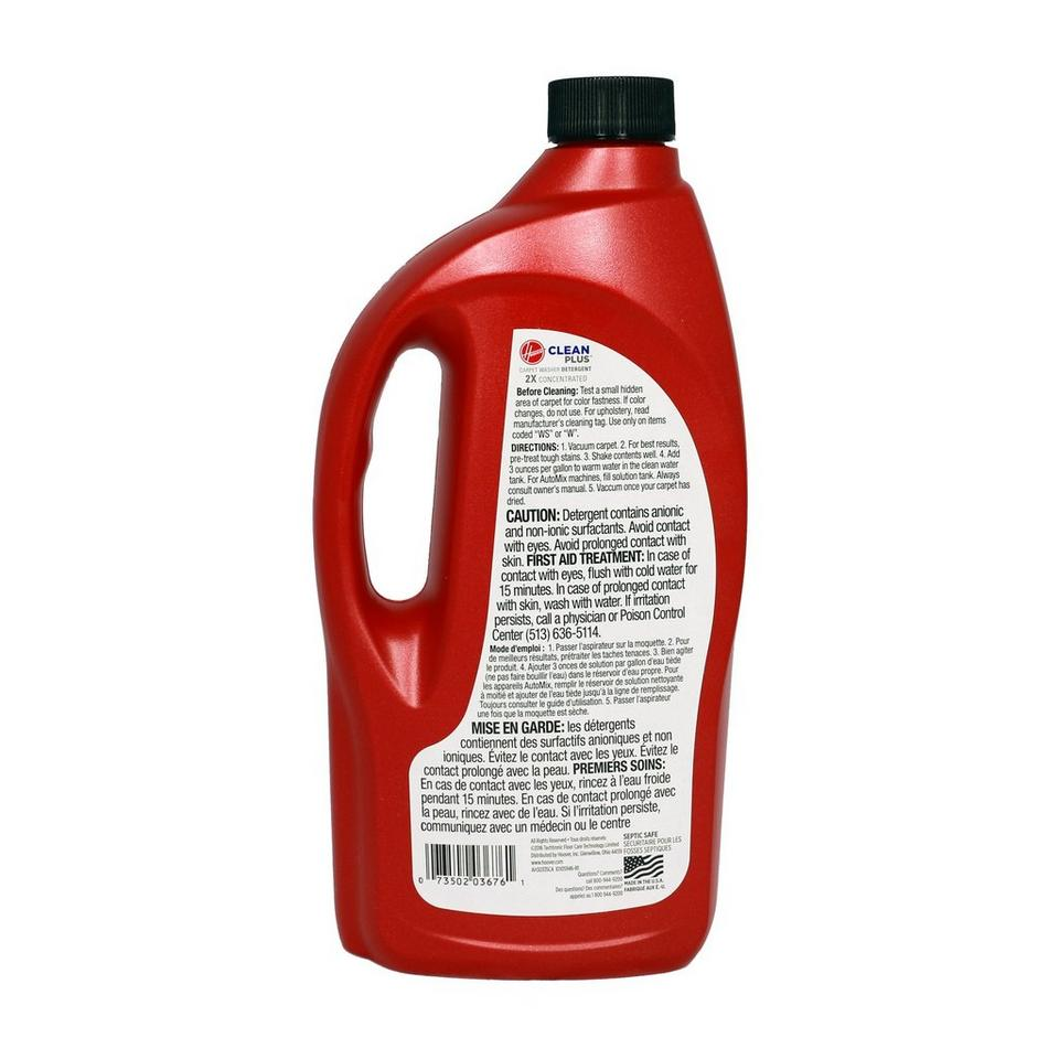CleanPlus 2X Carpet Cleaner & Deodorizer, 32 oz. - AH30335CA