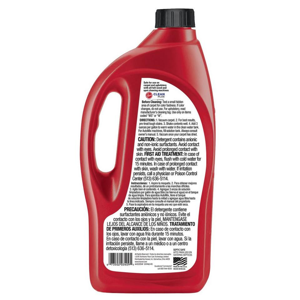 32 oz. Clean Plus 2X Carpet Washer Solution - AH30335NF