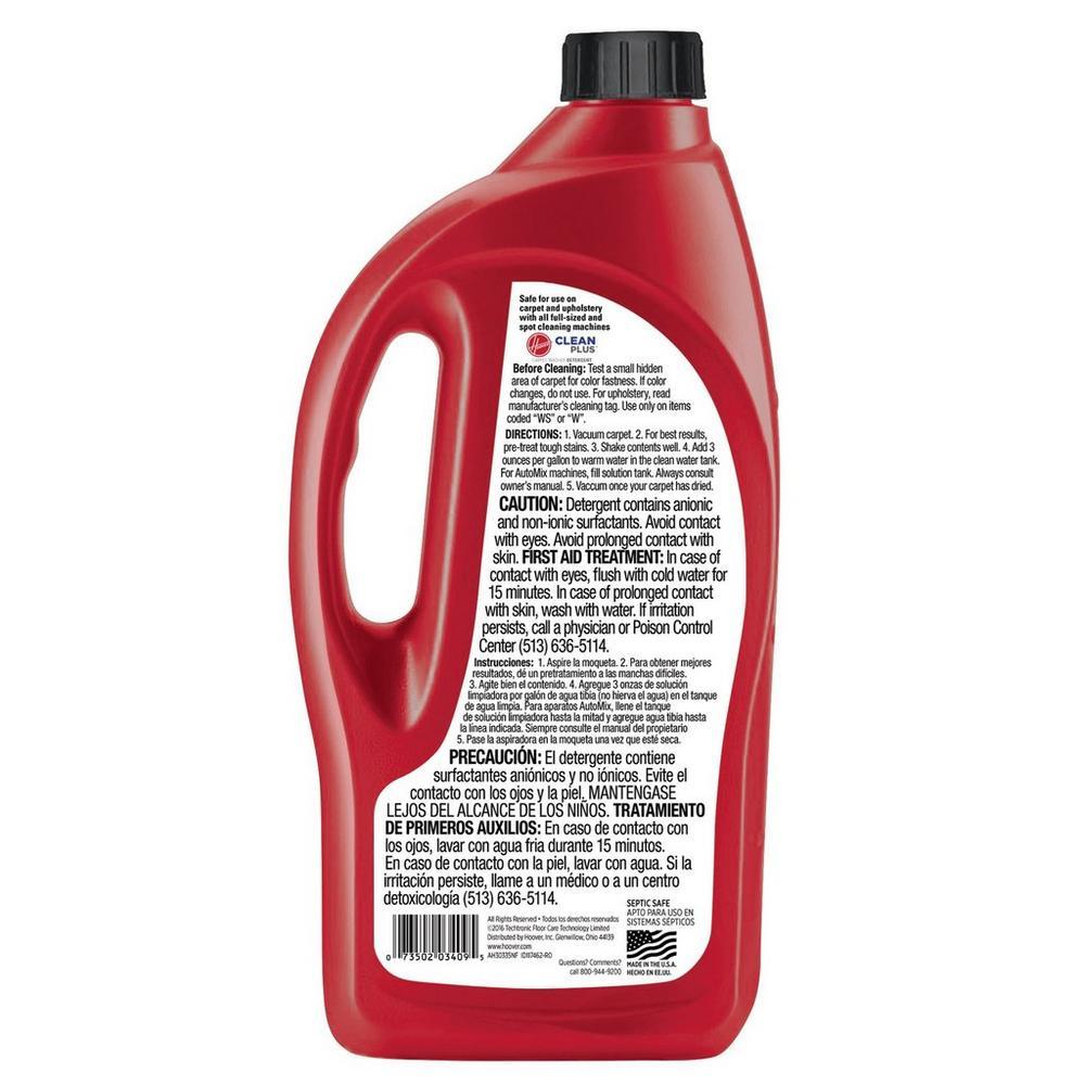 32 oz. Clean Plus 2X Carpet Washer Solution2