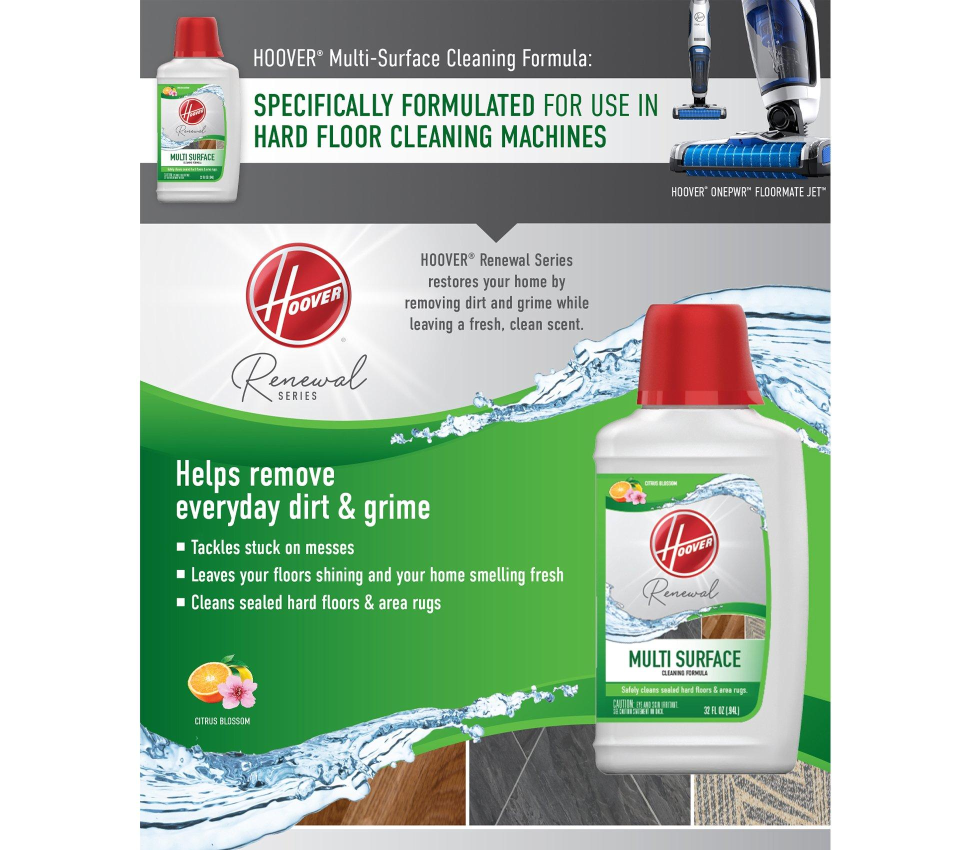 Renewal Multi Surface Cleaning Formula 32oz Ah30428 Hoover