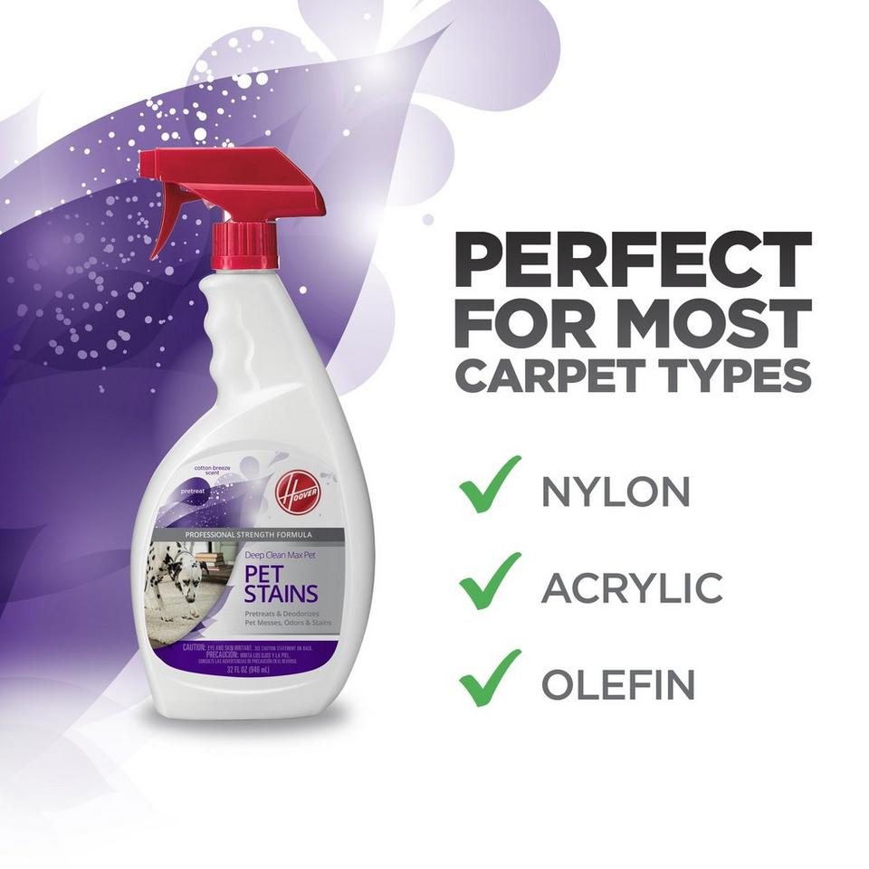 DEEP CLEAN MAX PET - PET STAINS PRETREAT (32oz) - AH30800