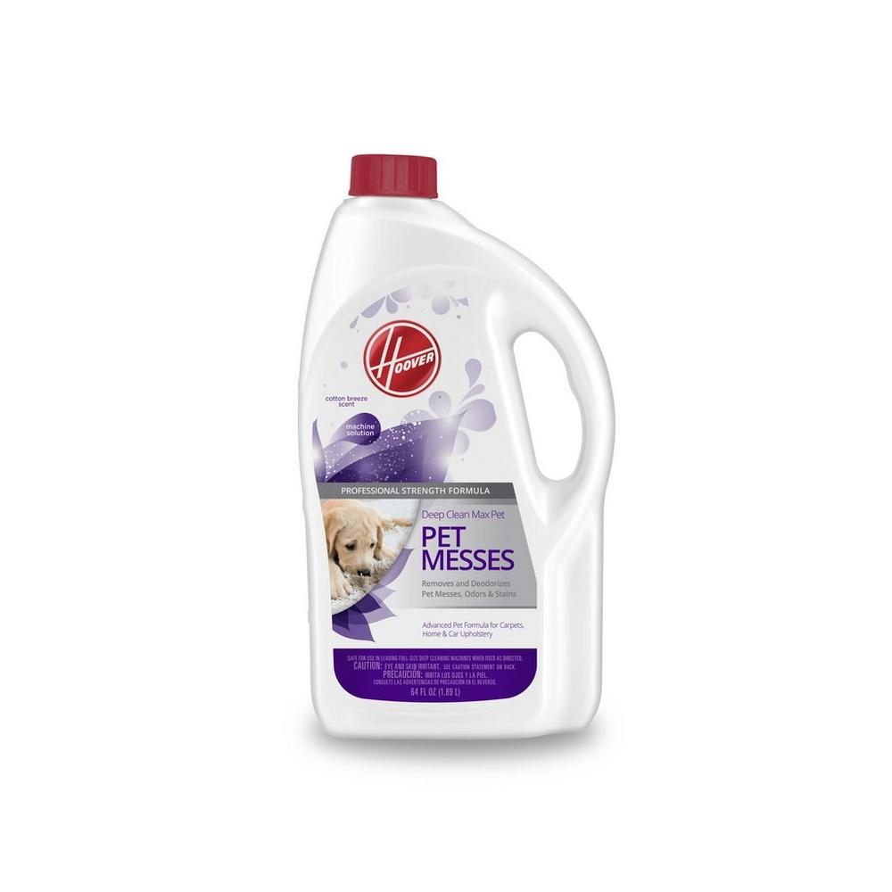 Hoover Deep Clean Max Pet Carpet Cleaning Solution 64oz