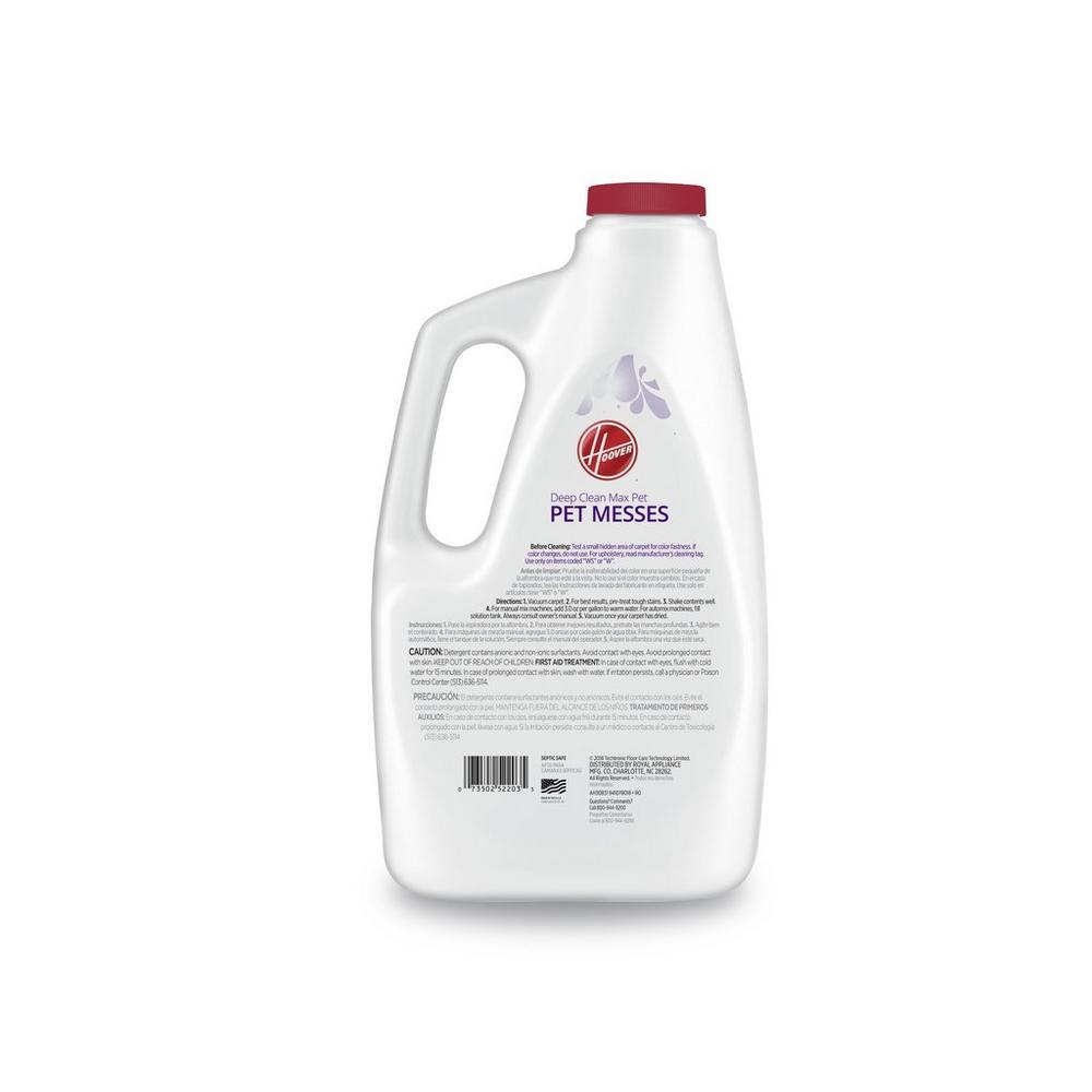 Deep Clean Max Pet - Pet Messes Carpet Cleaning Solution (120Oz)2