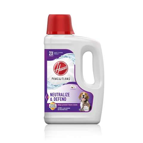 Hoover Paws & Claws Carpet Cleaning Formula with Stainguard 64oz - AH30925