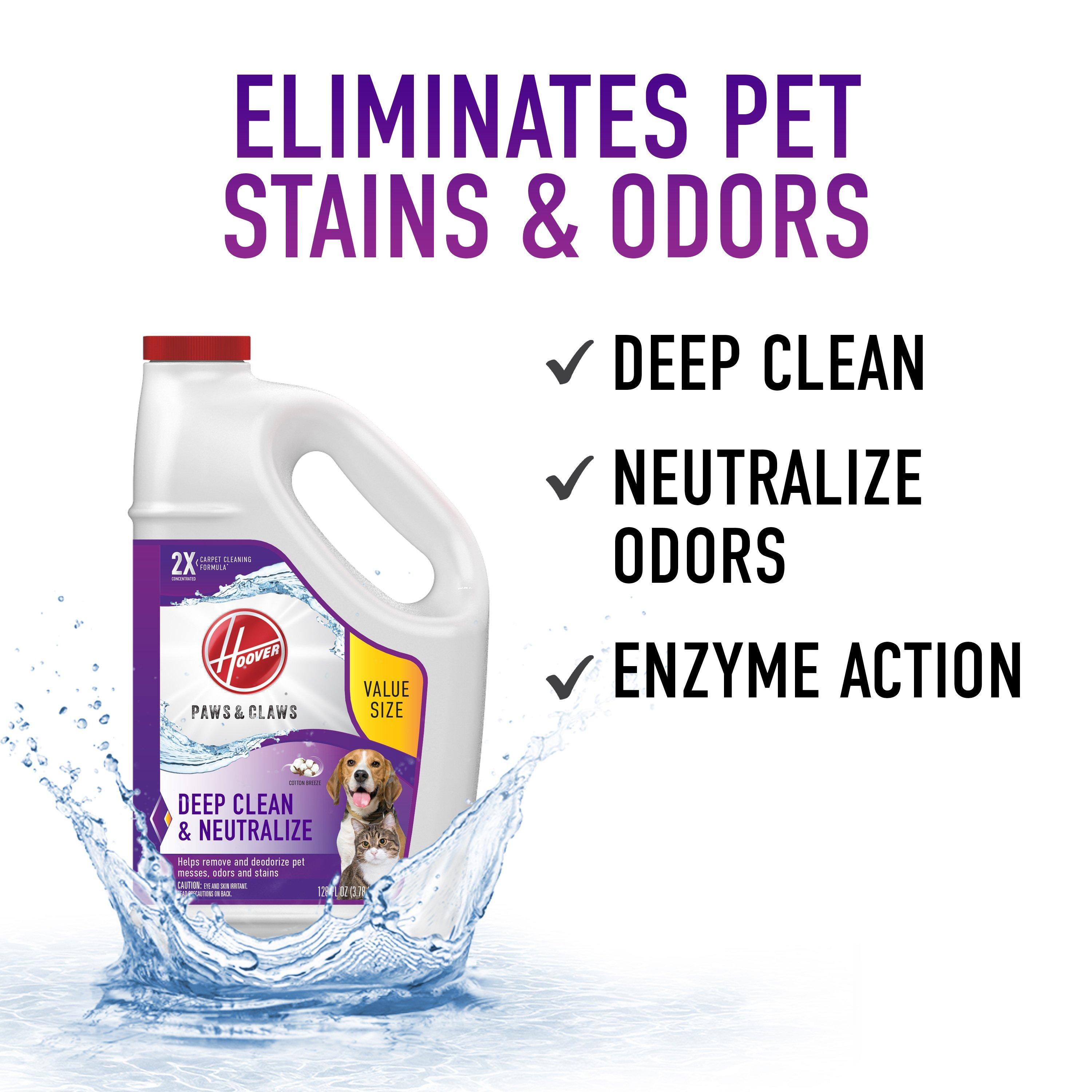 Paws & Claws Carpet Cleaning Formula 128oz5