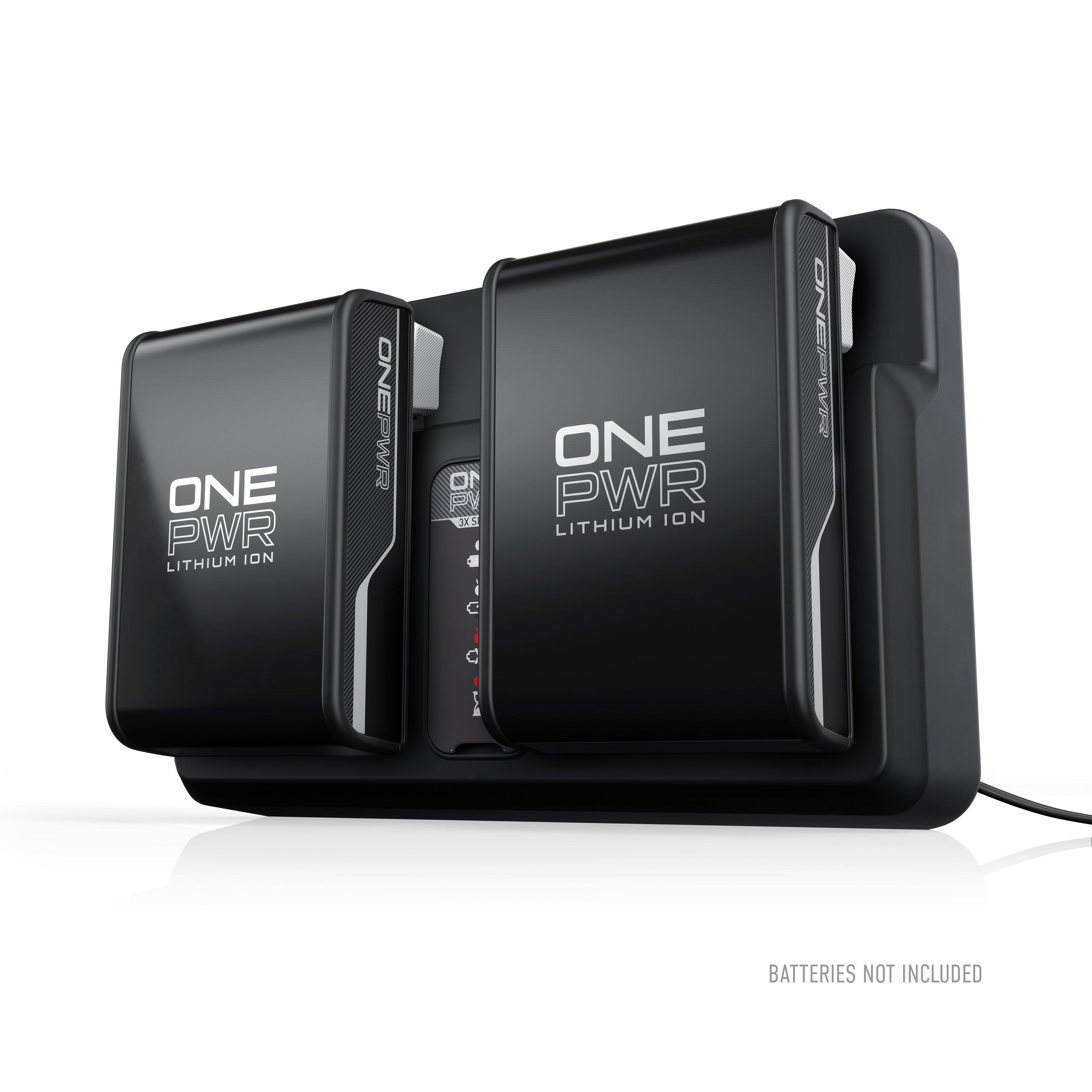 ONEPWR Dual Bay Battery Charger2