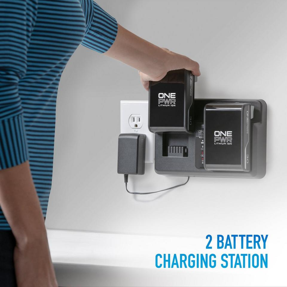 ONEPWR Dual Bay Battery Charger - BH05200