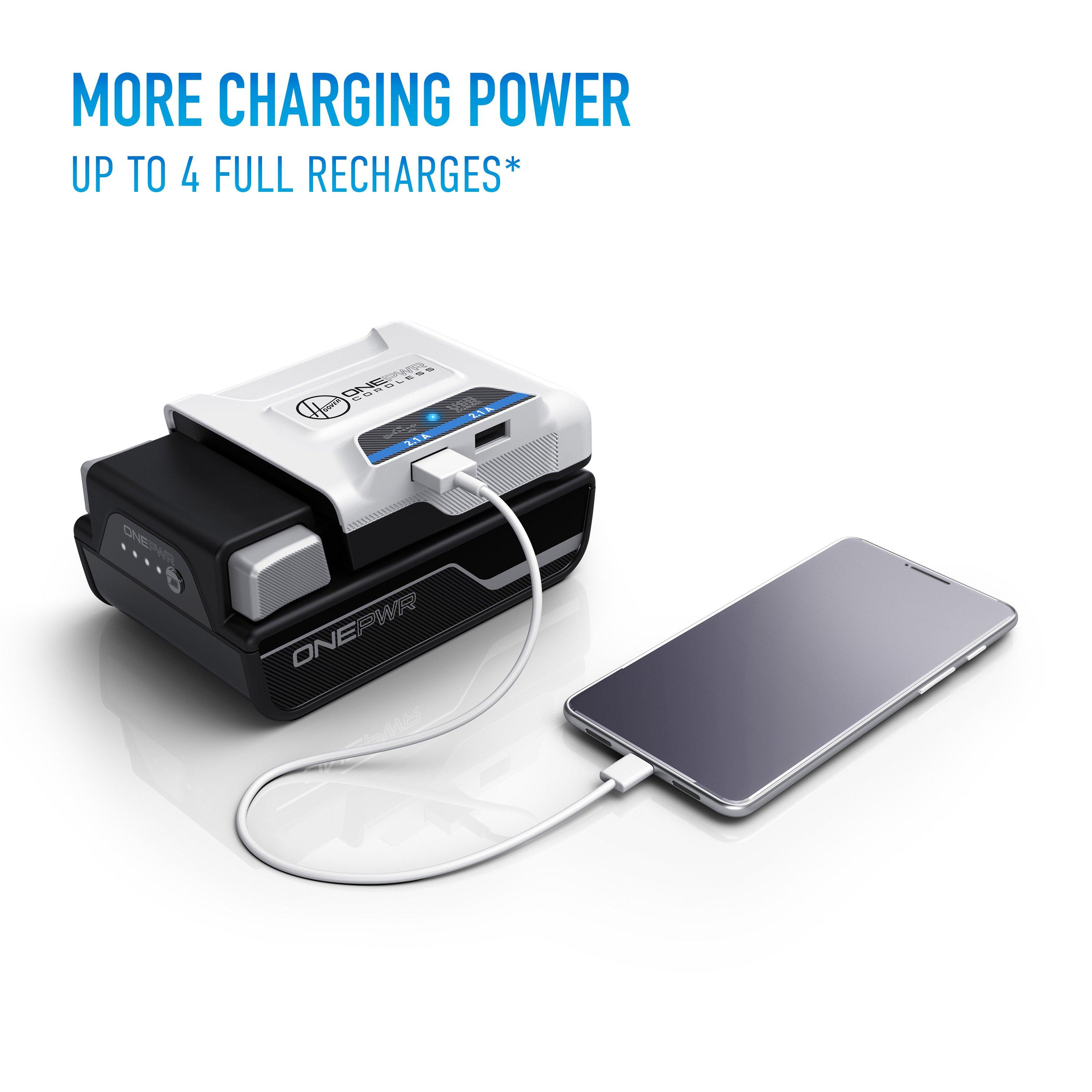 ONEPWR Cordless Dual USB Charger2