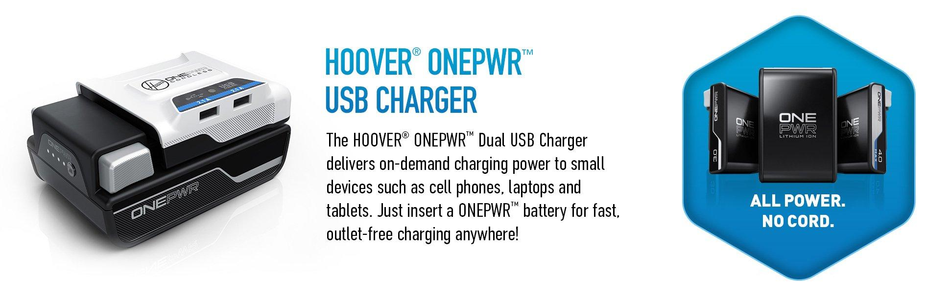 ONEPWR Cordless Dual USB Charger