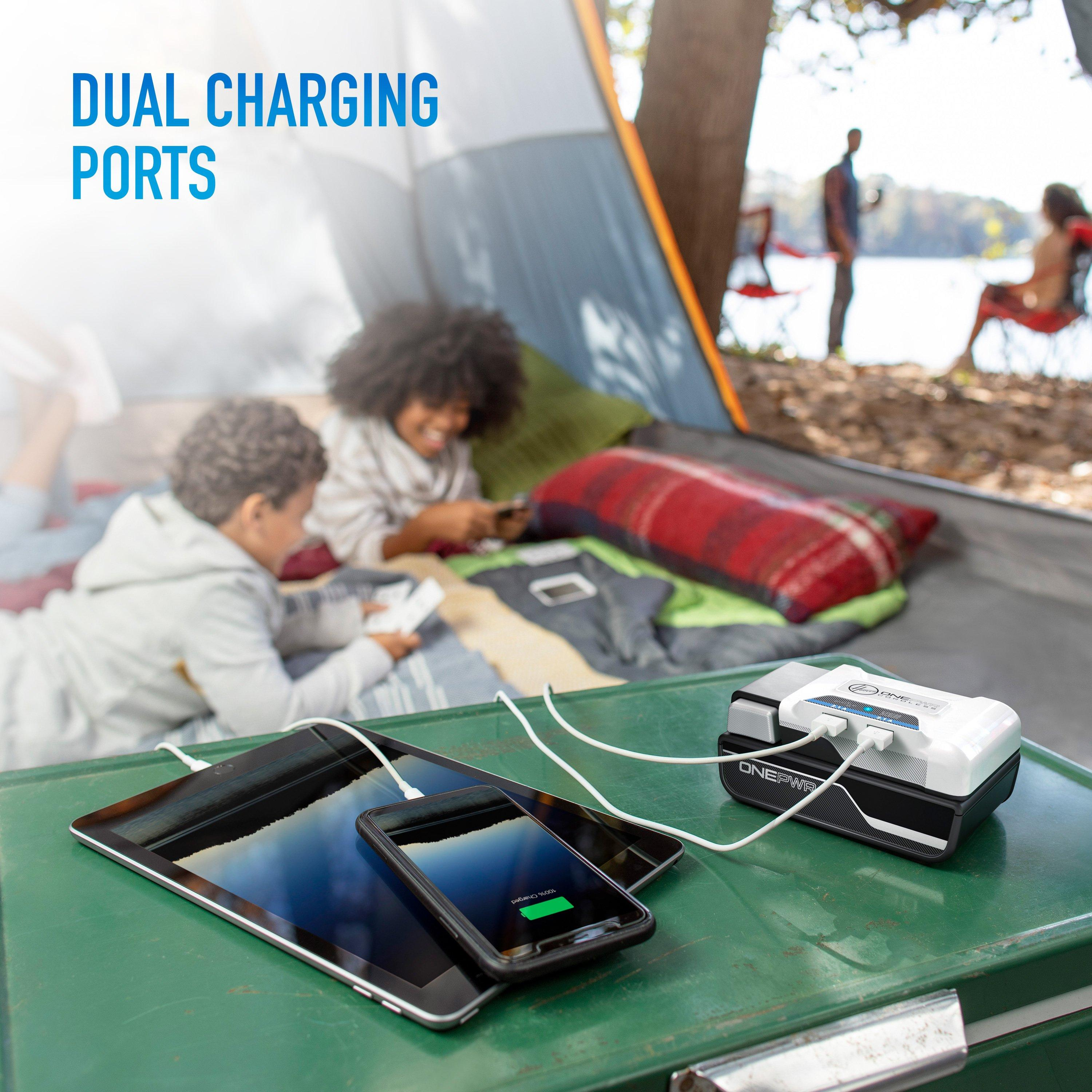ONEPWR Cordless Dual USB Charger5