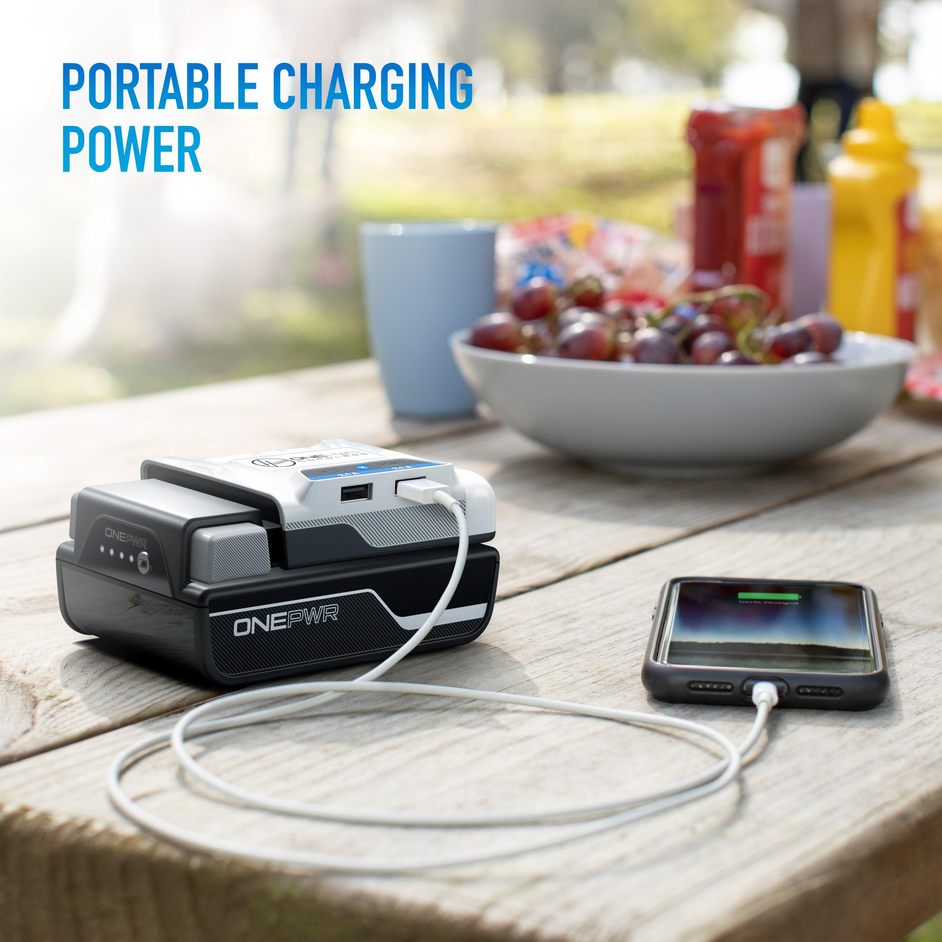 ONEPWR Cordless Dual USB Charger3