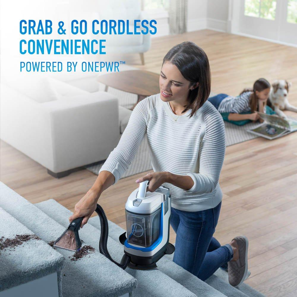 ONEPWR Spotless GO Cordless Portable Carpet Spot Cleaner - Kit2