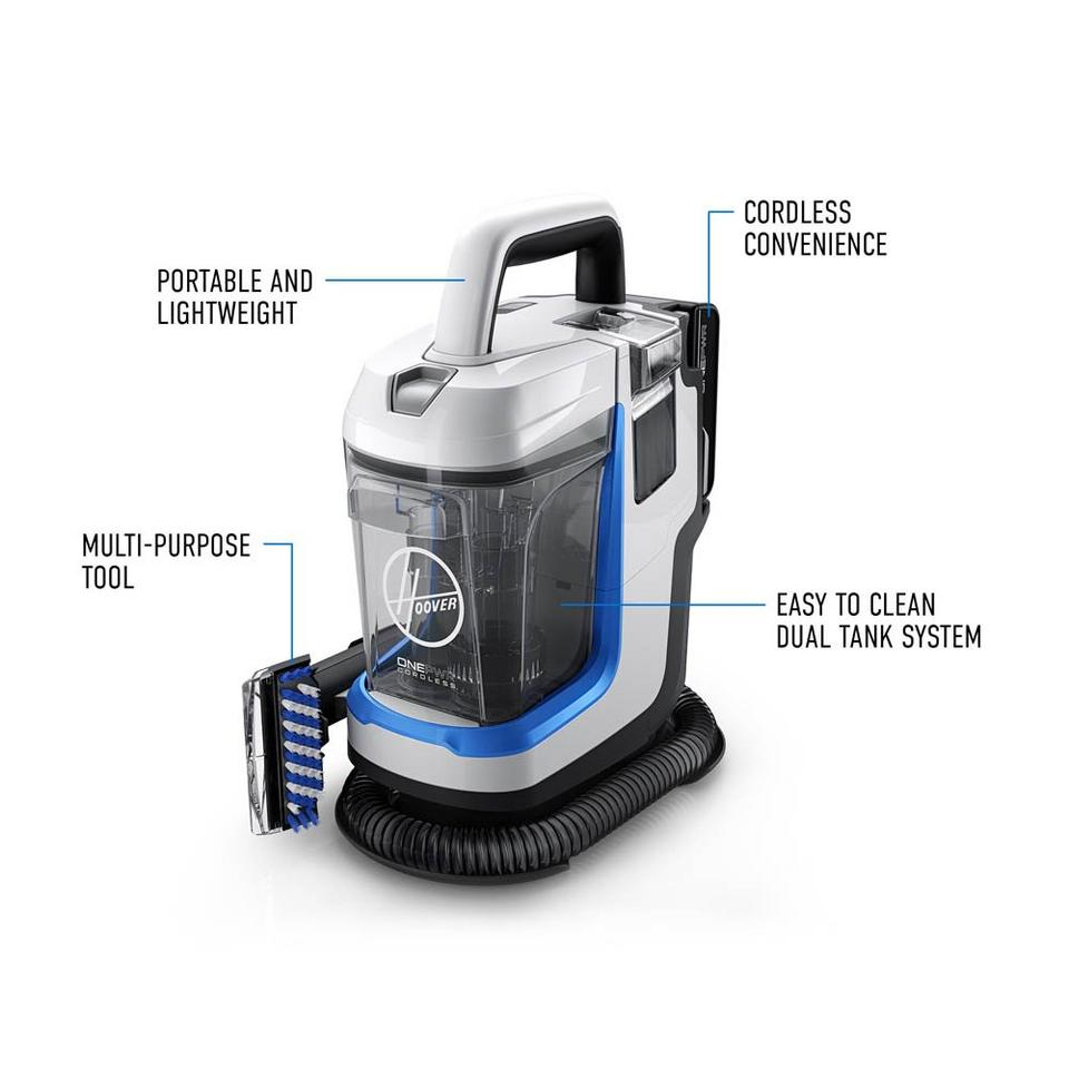 ONEPWR Spotless GO Cordless Portable Carpet Cleaner - Kit - BH12001