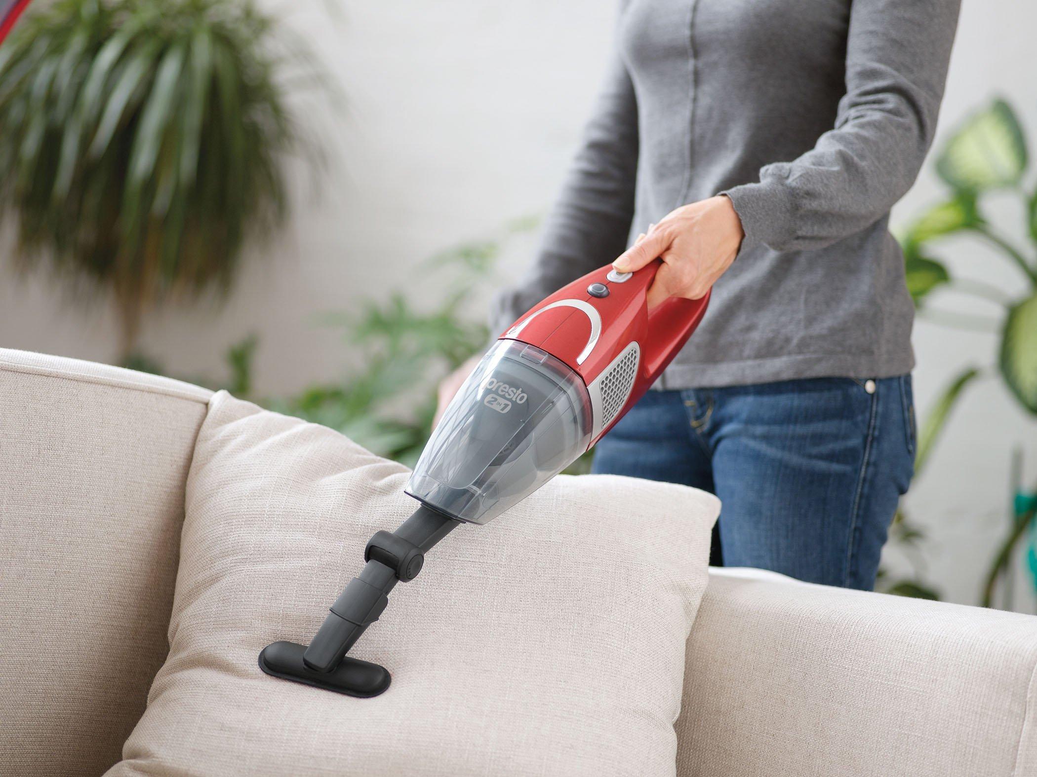 Presto 2-in-1 Cordless Stick Vacuum8